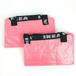 2 IKEA Slukis Frakta Tote Bag PINK 19 Gallon